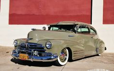 1948 Chevy Fleetline lowrider