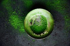MATCHA CHOCOLATE BARS 'GOOD GREEN VIBES' (10 bars) 20 soft-fresh dates 1 1/2 cup pumpkin seeds 4-5 tbsp chia seeds 1/4 cup cacao powder Matcha powder (Green tea powder) 2 tbsp virgin coconut oil A pinch sea salt Matcha Powder, this powerful green tea powder is full with antioxidants, it supports immunity, met...
