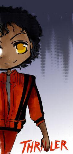 Thriller chibi by dorialine.deviantart.com on @DeviantArt