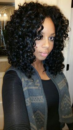Crochet braids with Gogo curls!