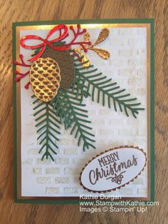 Stampin' Up! Christmas Pines