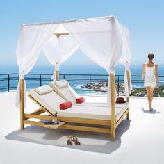 Bains de soleil et chaises longues Maisons du Monde
