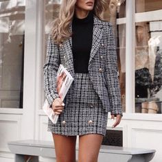 - business professional outfits for interview Outfit Chic, Smart Outfit, Elegant Outfit, 6th Form Outfits Smart, Business Casual Outfits, Business Fashion, Classy Outfits, Business Professional Outfits, Business Dresses