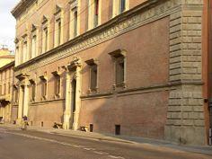 Palazzo Albergati, Bologna, Italy; built between 1420-1440, probably designed by Baldassarre Peruzzi.