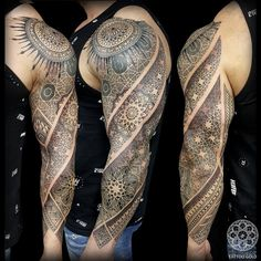 Coen Mitchell Tattoo Gold