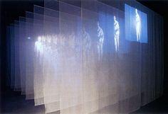 Bill Viola. The Veiling. Video instalación. 1995.