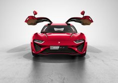 NanoFlowcell Quant F electric sports coupe with gullwing doors to debut in Geneva : Luxurylaunches Ford Motor Company, Ford Focus, Supercars, Cadillac, Flow Battery, Jaguar, Chevy, Fuel Cell Cars, Car Fuel