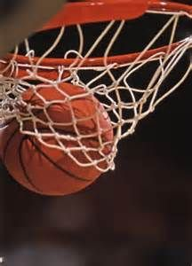Basketball is a popular sport. There are five players on each team and each team tries to get the basketball in each other's nets. You play this game with a basketball which is a sphere colored orange with black stripes. Basketball is most common in the USA. There are professional teams, college