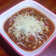 The Trim Lunch Box: Italian bean soup *THM E*