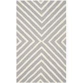 Found it at Wayfair - Christa Silver & Ivory Area Rug