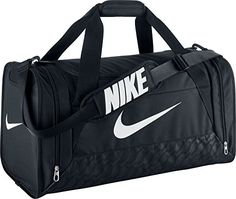 Nike Brasilia 6 Duffel Bag BlackWhite Size Medium >>> You can find out more details at the link of the image.