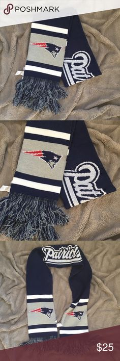 NWOT New England Patriots Scarf New without tags - warm winter scarf. Licensed NFL Pats Football Accessories Scarves & Wraps