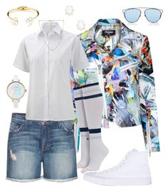 """""""But you never really saw me so how could you notice me leave"""" by falonstarrider on Polyvore featuring Jaded, Stance, Current/Elliott, Converse, Fornash, Kate Spade, Kendra Scott, Christian Dior, outfit and ootd"""
