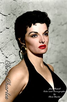 Vintage Movie Stars, Vintage Movies, Hollywood Icons, Old Hollywood, Jane Russell, 8 Bit, Front Row, Actors & Actresses, Retro
