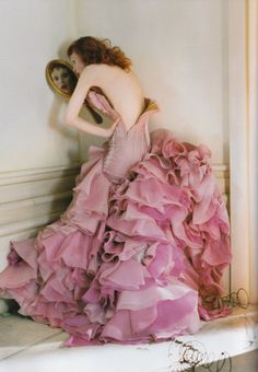 Karen Elson by TIm Walker