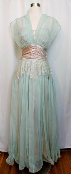Your place to buy and sell all things handmade Illusion Neckline, Prom Dresses, Formal Dresses, Chiffon Skirt, Casablanca, Dressmaking, Mint Green, All Things, Bodice