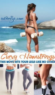 Hamstring Curls are one of the best exercises to target your hamstrings, glutes and entire core. @fitwithdeniza