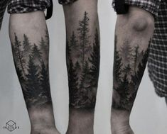 Super nature tattoo for guys tatoo 23 Ideas Forest Tattoo Sleeve, Tree Tattoo Arm, Nature Tattoo Sleeve, Pine Tree Tattoo, Forest Tattoos, Tattoo On, Sleeve Tattoos, Evergreen Tattoo, Forest Forearm Tattoo