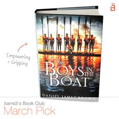 barre3 Book Club: The Boy in the Boat