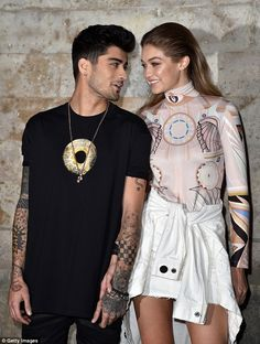 Moving too fast: Zayn Malik reportedly proposed to girlfriend Gigi Hadid recently, a quest...