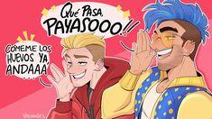 Carlo Gambino, Memes, Fan Art, Manga, Comics, Streamers, Otaku, Cool Drawings, Funny Drawings