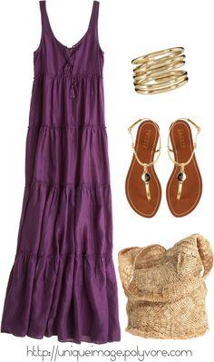 """CALYPSO St Barth Maxi Dress"" by uniqueimage on Polyvore"