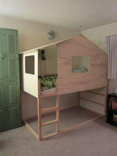 LouLou GaTou: 15 façons de customiser votre lit KURA de IKEA