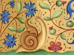 screaming snail. Xenophon, Retreat of the Ten Thousand (French translation), France ca. 1501.