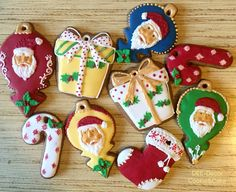 Christmas ornaments. 2015Gingerbread cookies
