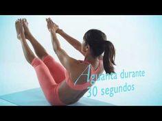 RUTINA 1 - El Programa: VIENTRE PLANO (Ejercicios) - routine no.1 the program : flat six pack