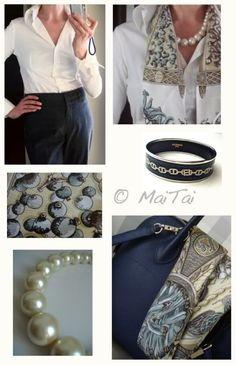 MaiTai's Picture Book: Capsule wardrobe ~ grey and white Capsule Outfits, Capsule Wardrobe, Travel Wardrobe, Fashion Books, Fashion Outfits, Womens Fashion, Fashion Pics, Three Color Combinations, Hermes