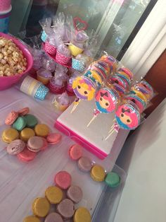 Treats at a  Lalaloopsy Party #lalaloopsy #partytreats