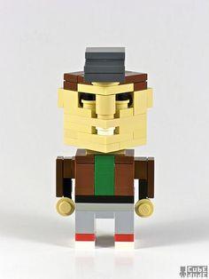 cubedude murdock Lego A Team Characters Art