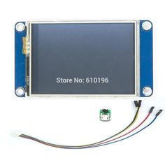 promo aihasd english nextion 2 4 tft 320 x 240 resistive touch screen uart hmi smart raspberry pi lcd #lcd #module