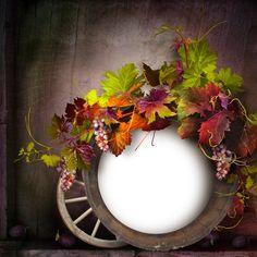 CH.B *✿* Boarders And Frames, Autumn, Fall, Twilight, Scrap, Clip Art, Wreaths, Seasons, Blog