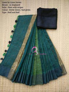 Saree Blouse Patterns, Designer Blouse Patterns, Saree Blouse Designs, Indian Attire, Indian Outfits, Trendy Dresses, Nice Dresses, Simple Sarees, Saree Trends