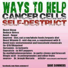 Kill cancer