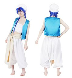 Milica Books Magi: The Labyrinth of Magic Aladdin Cosplay Costume-Size L *** You can find more details by visiting the image link.