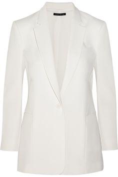 Theory|Lousine crepe blazer|NET-A-PORTER.COM