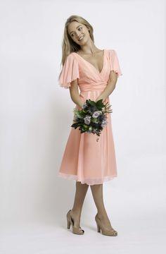 Maids To Measure | Caroline Short Coral