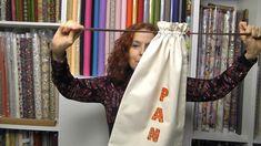 Cómo hacer una bolsa de pan de tela Tutorial Patchwork, Sewing Hacks, Arts And Crafts, Youtube, Reusable Tote Bags, Crochet, Tips, Projects, Ideas Originales
