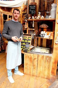 Meet Marcello who will indulge your taste buds with delicious cheese at Jumi Cheese in Borough Market