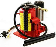 20 Ton Shop Air Manual Hydraulic Bottle Jack Automotive Lift Hoists Jacks Handle *** Check out this great product.