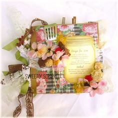 RECIPE FOR LOVE Mini Album by Sweetly Scrapped