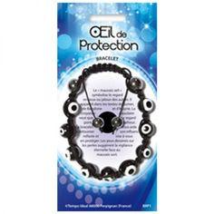 Oeil De Protection Bracelet - Magie des Bijoux - Le pouvoir des minéraux...