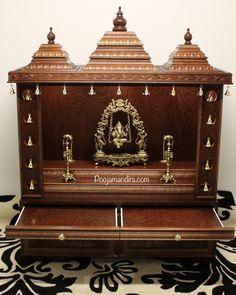 Pooja Mandirs USA - Ashwini Collection - Semi Closed Models