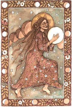 Lucy Pierce, She Drums the Moon