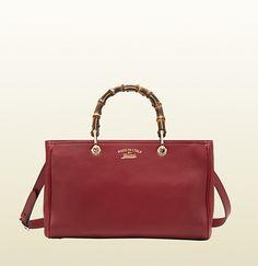 Gucci - bamboo shopper metallic leather tote 323660AH90V5026