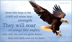 Free Isaiah 40:31 eCard - eMail Free Personalized Scripture Cards Online