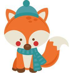 Silhouette Design Store: boy winter fox